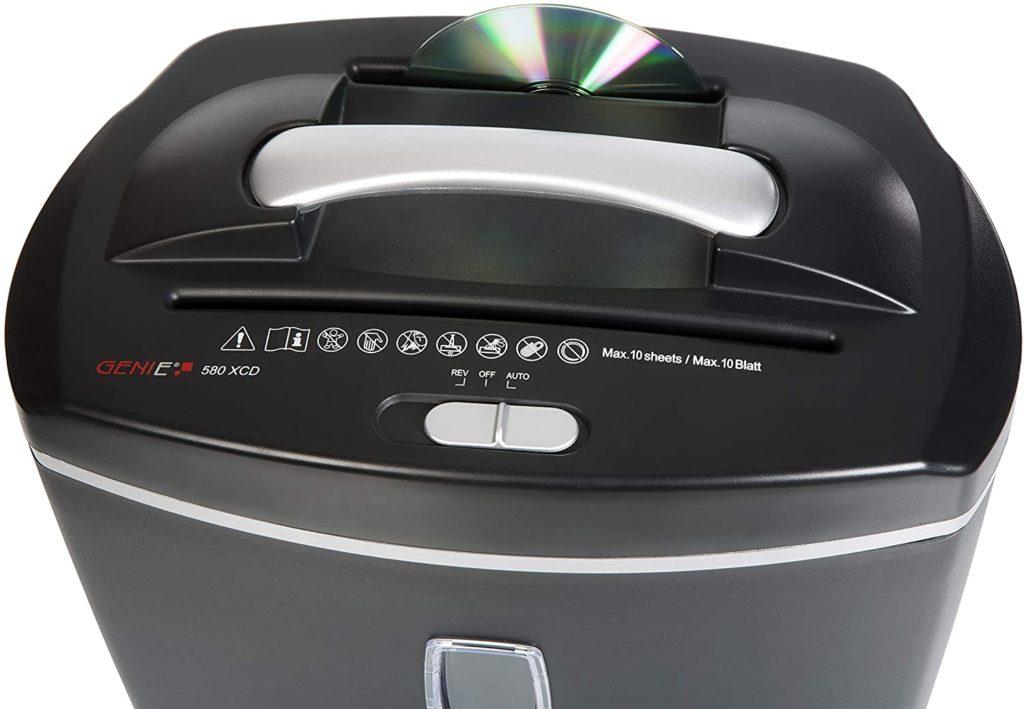 Destructora de papel Genie 580 XCD